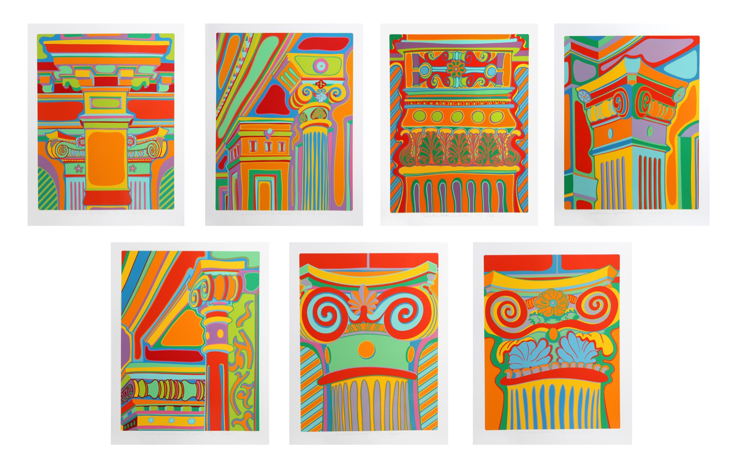 Clayton Pond, Capital Ideas Portfolio, Seven Serigraphs in Folio