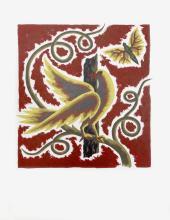 Jean Picart le Doux, L'Oiseau sur la Branche, Lithograph