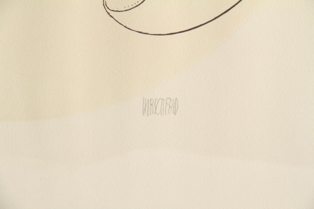 Al Hirschfeld, The Honeymooners, Etching