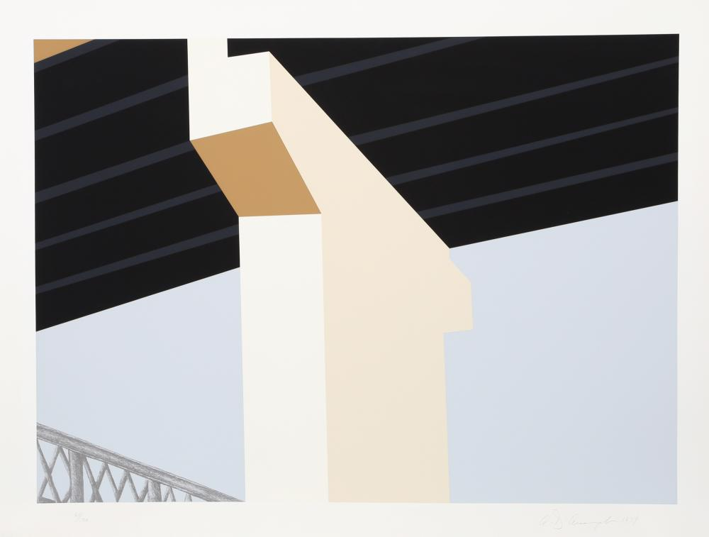 Allan D'Arcangelo, Bridge, Serigraph