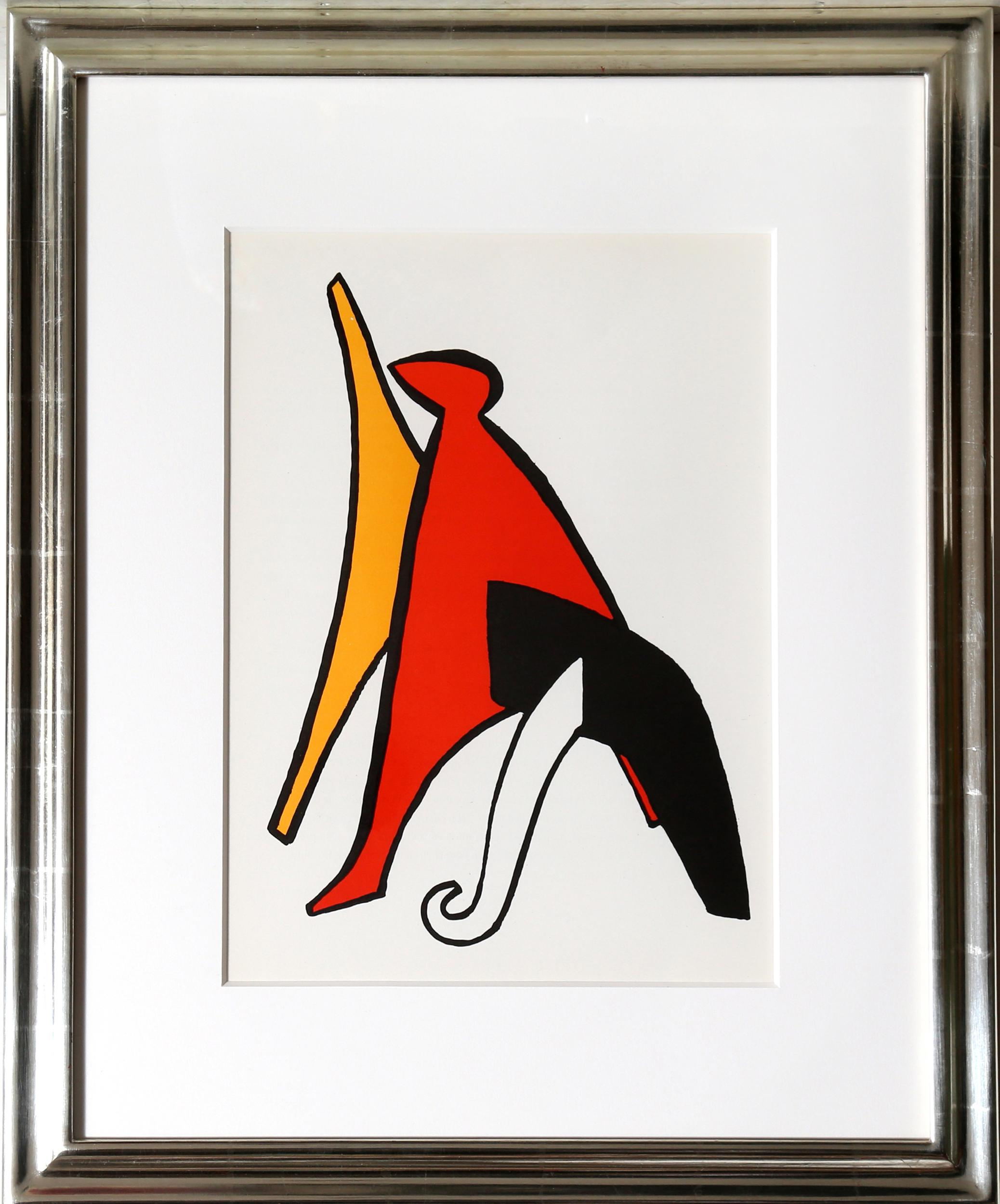 Alexander Calder, Stabiles V, Lithograph