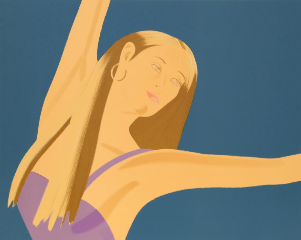 Alex Katz, Night: William Dunas Dance 4 (Pamela), Lithograph