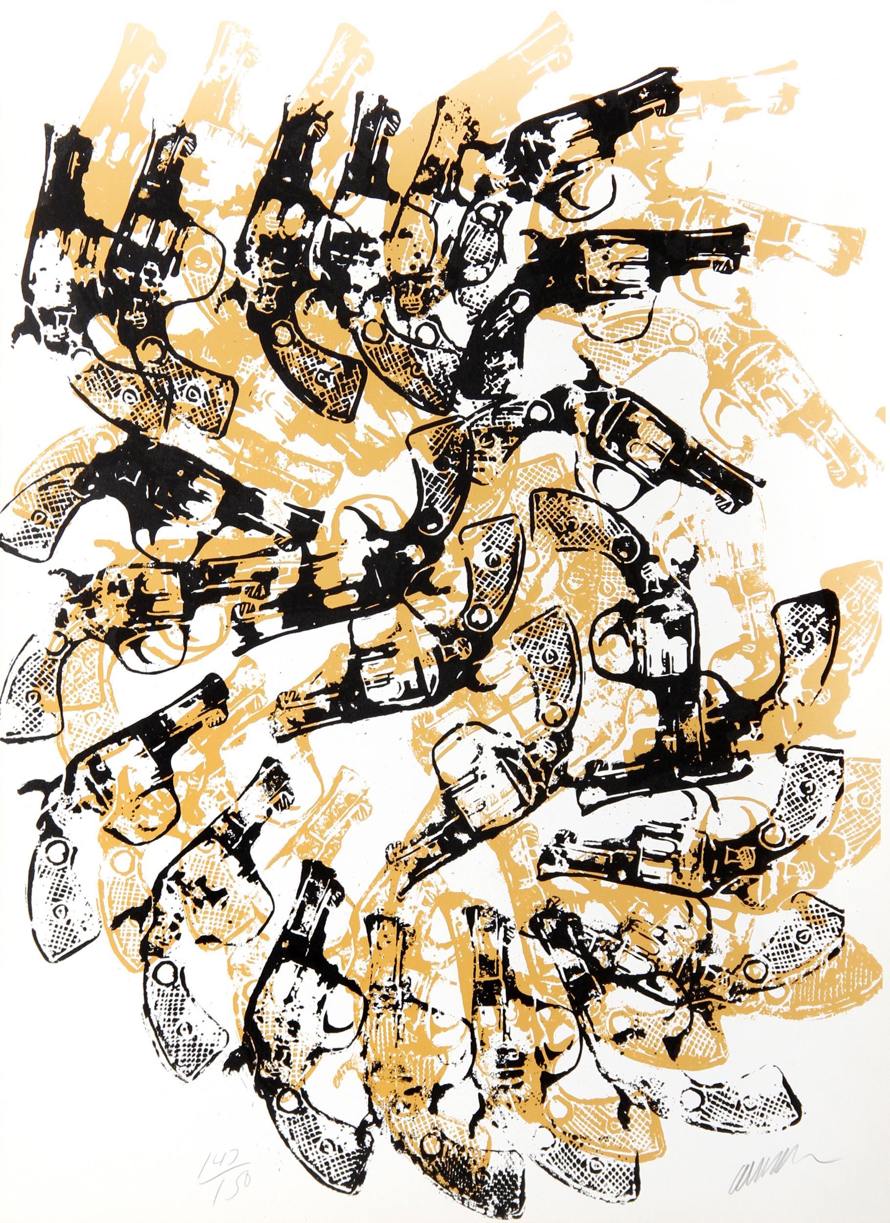 Arman, Yang and Bang, Serigraph