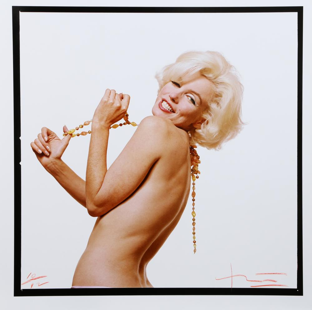 Bert Stern, Marilyn Monroe: The Last Sitting Portfolio 3, Color Photograph