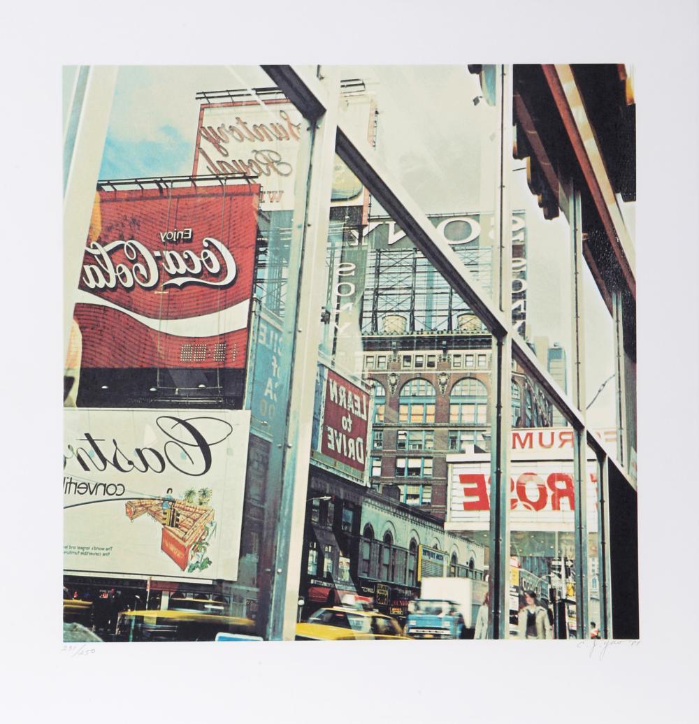 C.J. (Ching-Jang) Yao, Coca-Cola, Silkscreen