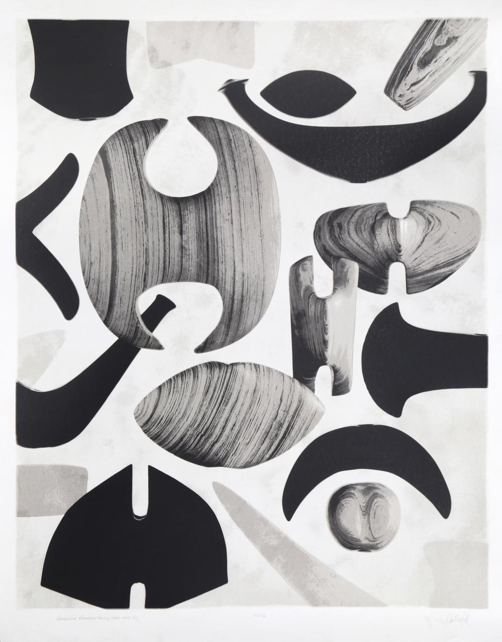 Corson Hirschfeld, American Bannerstones, 5000-1000 B.C., Mezzotint