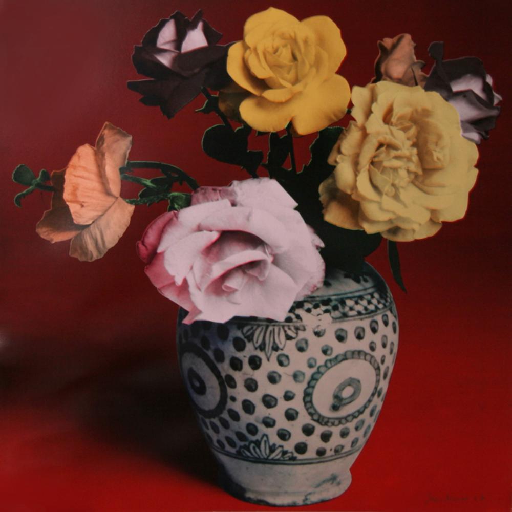 Francesco Scavullo, Flower Arrangement (Red), Serigraph