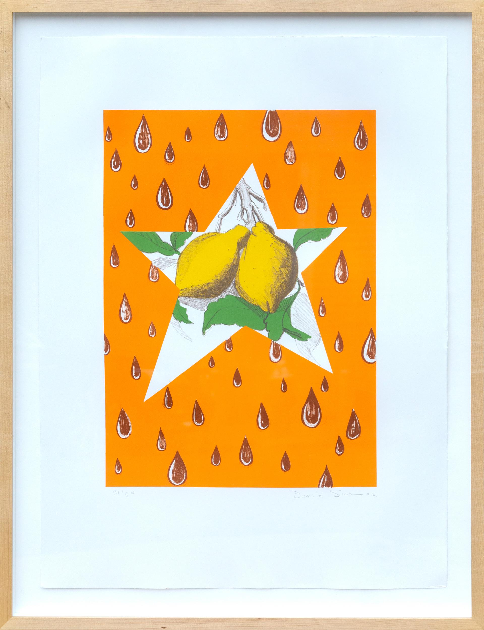 David Salle, The Lemon Twig, Lithograph