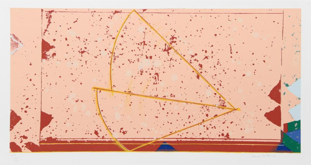 Frank Roth, Two Wedges, Serigraph