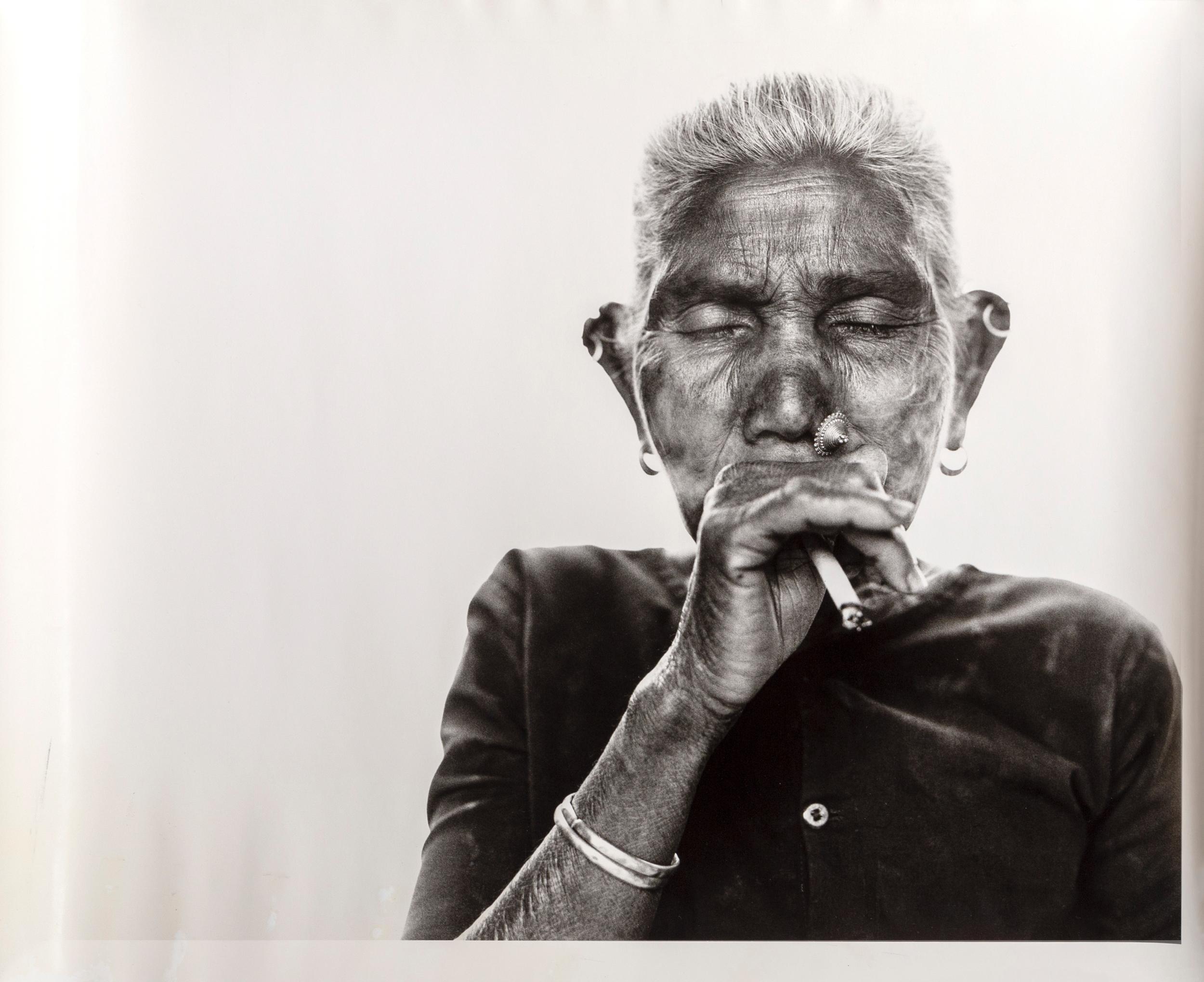 Gerald Forster, Smoke, Nepal, Photograph