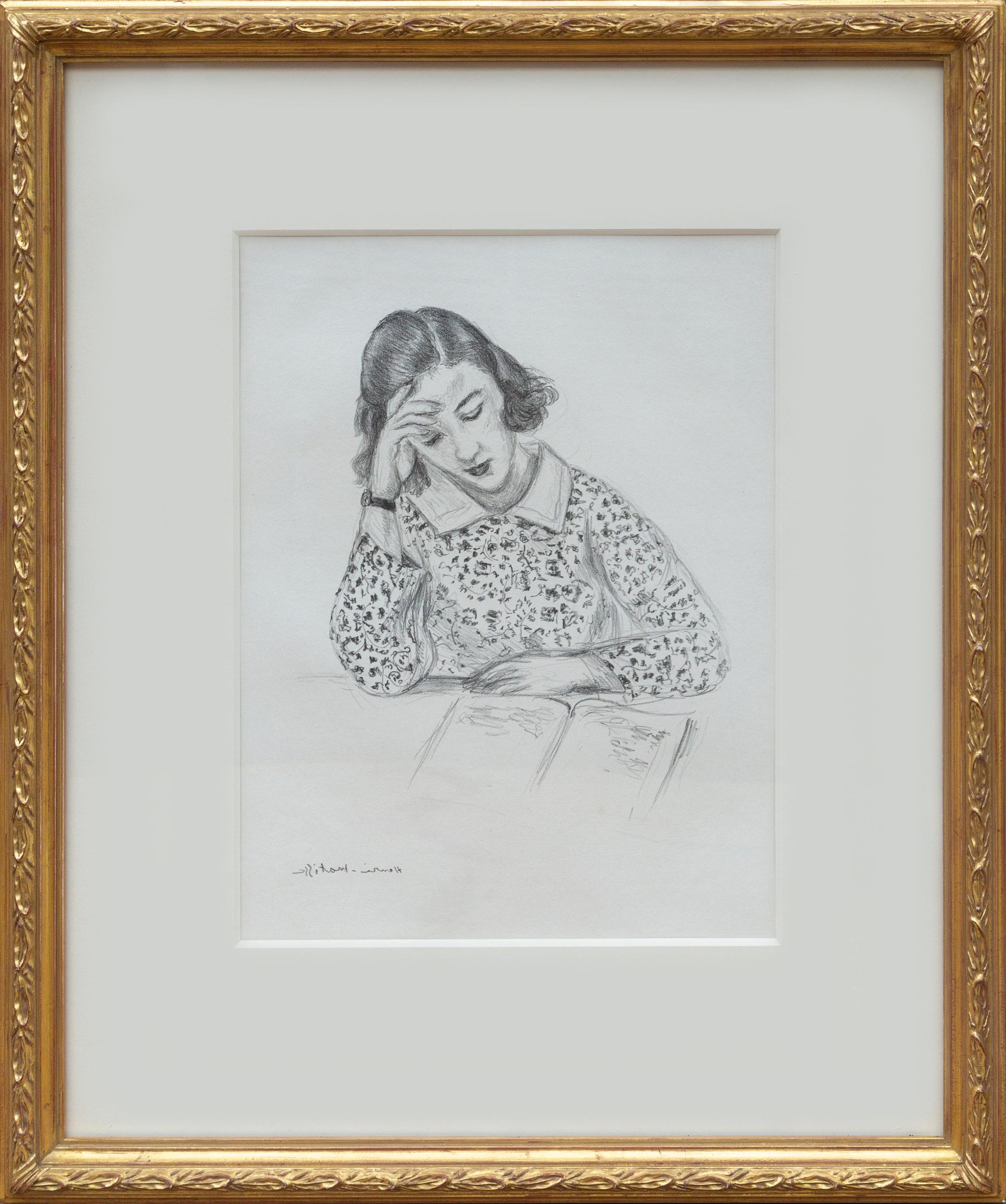 Henri Matisse, La Petite Liseuse, Lithograph