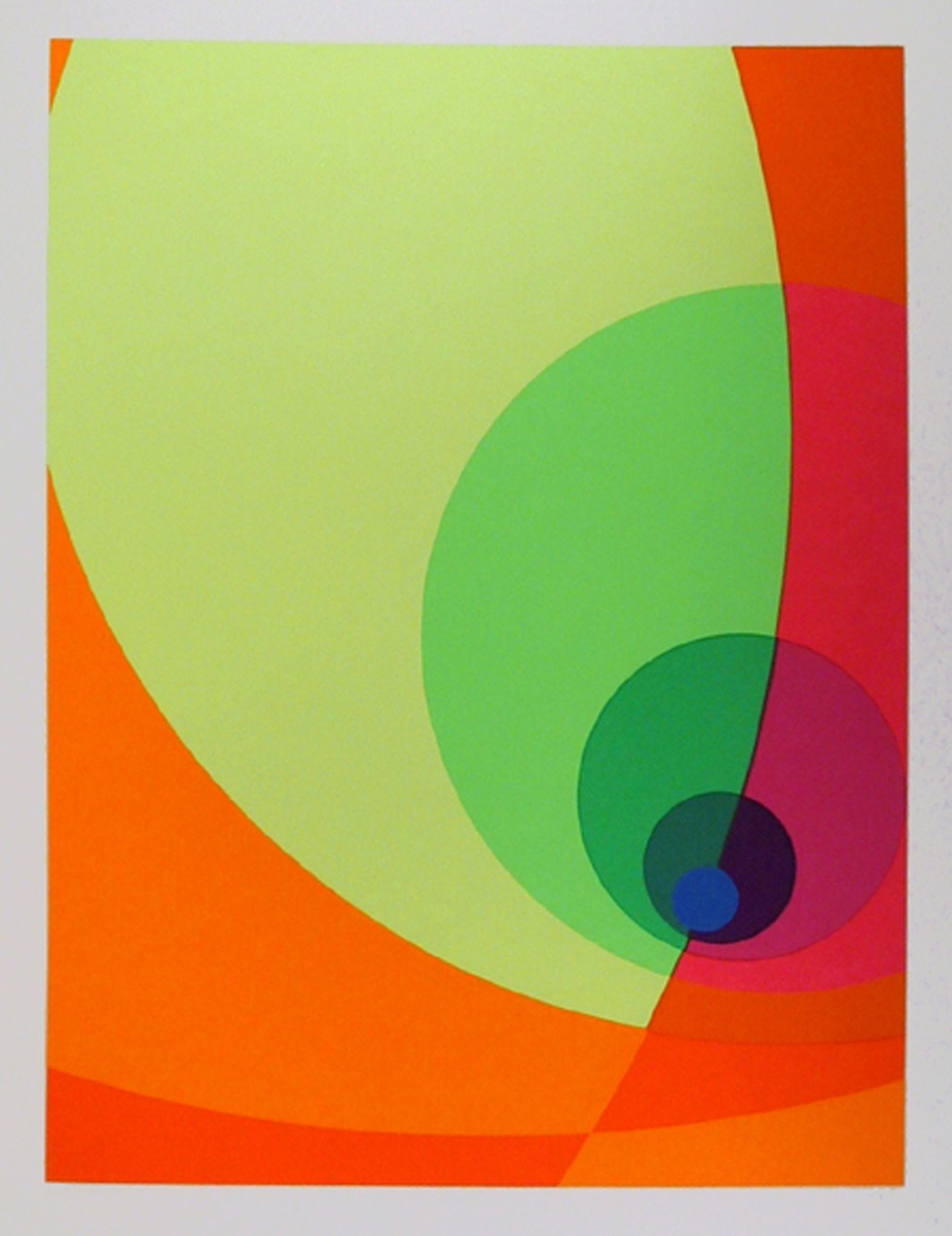 Herbert Aach, Split Infinity #14BS, Silkscreen