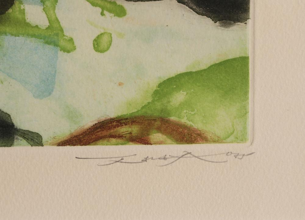 Zao Wou-Ki, Untitled 265, Aquatint Etching