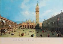 Giovanni Antonio Canaletto, Piazza San Marco , Poster on board