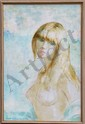 Nathan Wasserberger, Nude Portrait, Oil Painting, Nathan Wasserberger, Click for value
