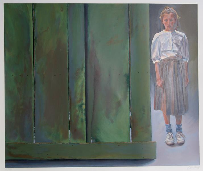 Chase Chen Chenoff, Girl, Serigraph