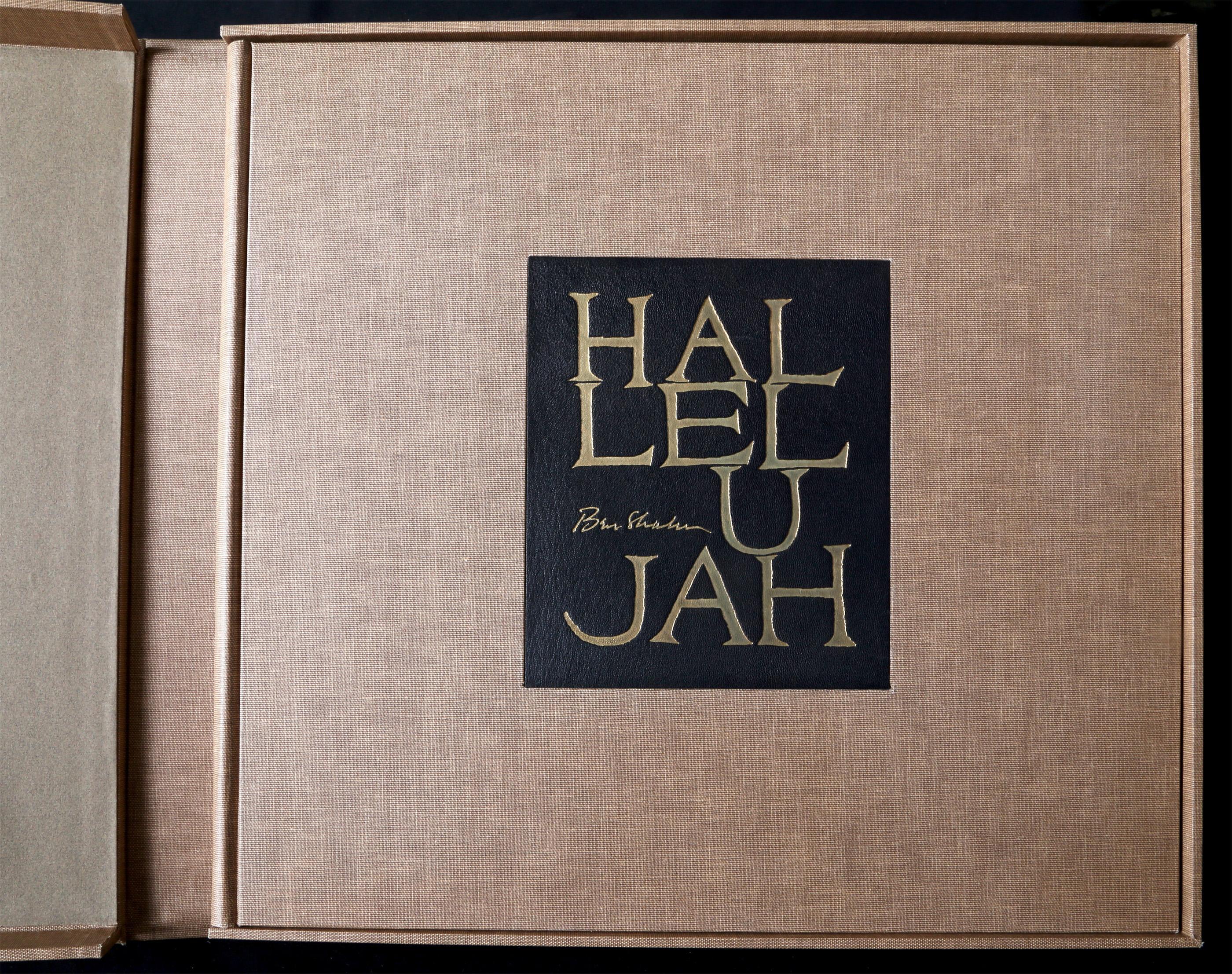 Ben Shahn, Hallelujah, Book of 24 Lithographs