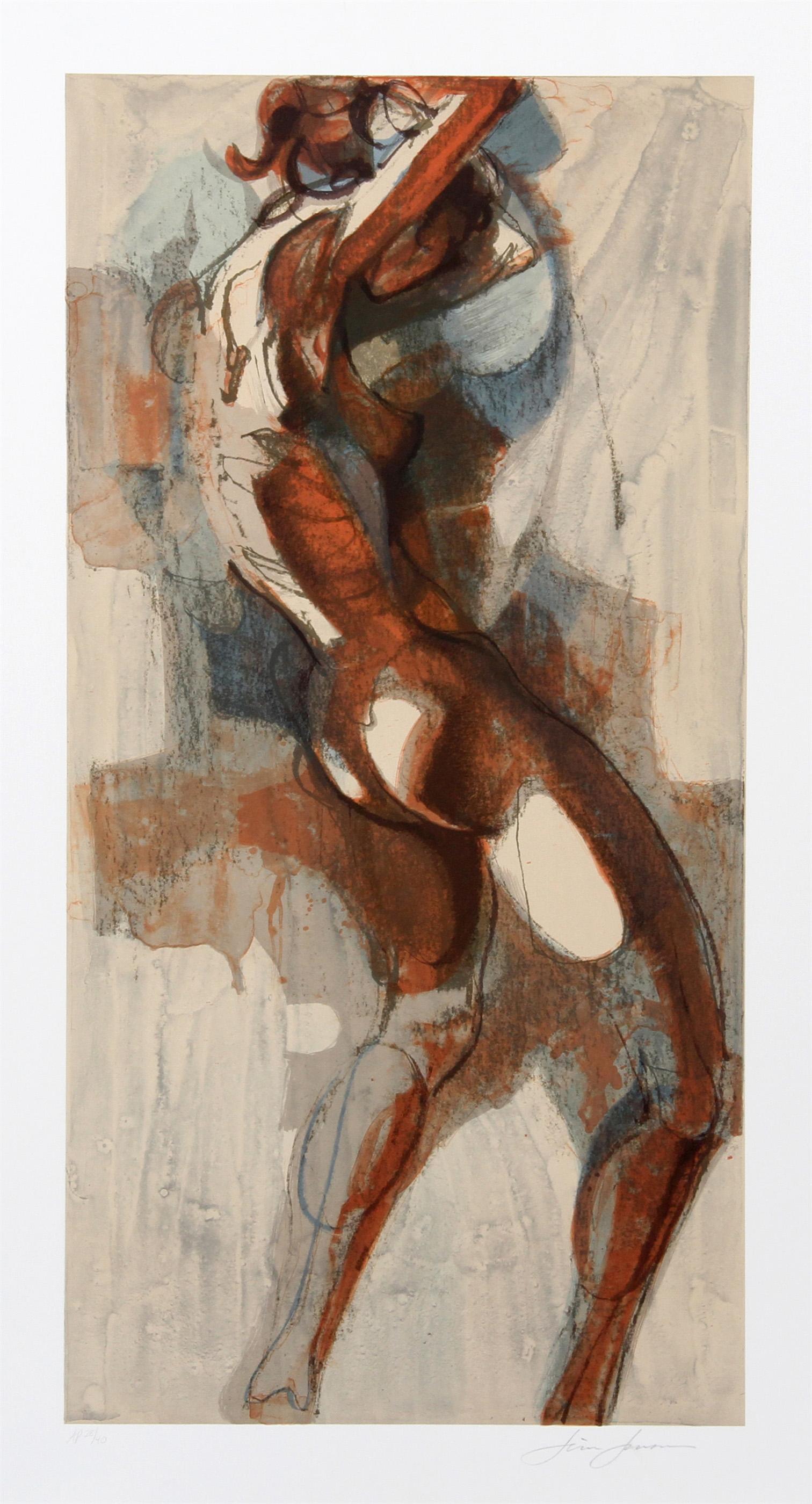 Jim Jonson, Dancer III, Lithograph