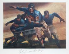 Robert Peak, Red Grange from Sports Illustrated Living Legends Portfolio, Lithograph
