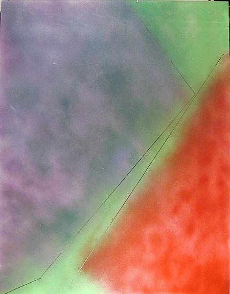Paul von Ringelheim, Airbrush and Mixed Media Painting