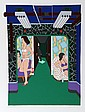 Seymour Chwast, The Massage Parlor, Serigraph, Seymour Chwast, Click for value