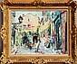 Dimitrie Berea, St. Paul de Vence, Oil Painting