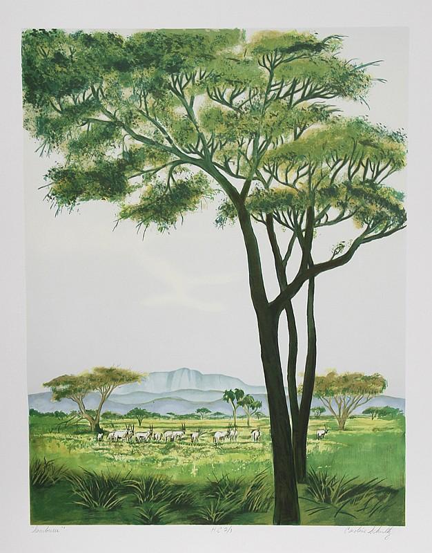 Caroline Schultz, Samburu, Lithograph