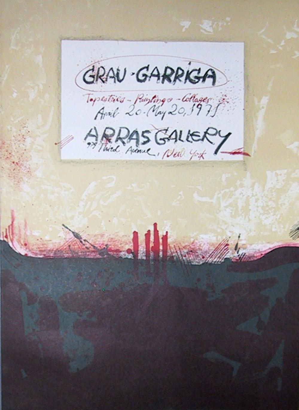 Josep Grau-Garriga, Arras Gallery Exhibition, Lithograph Poster