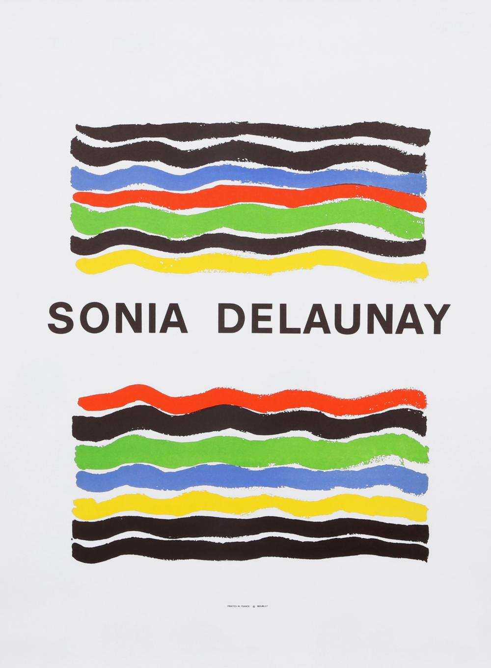 Sonia Delaunay, Mourlot, Poster