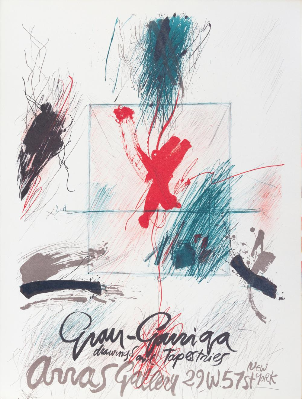 Josep Grau-Garriga, Arras Gallery Poster, Lithograph Poster