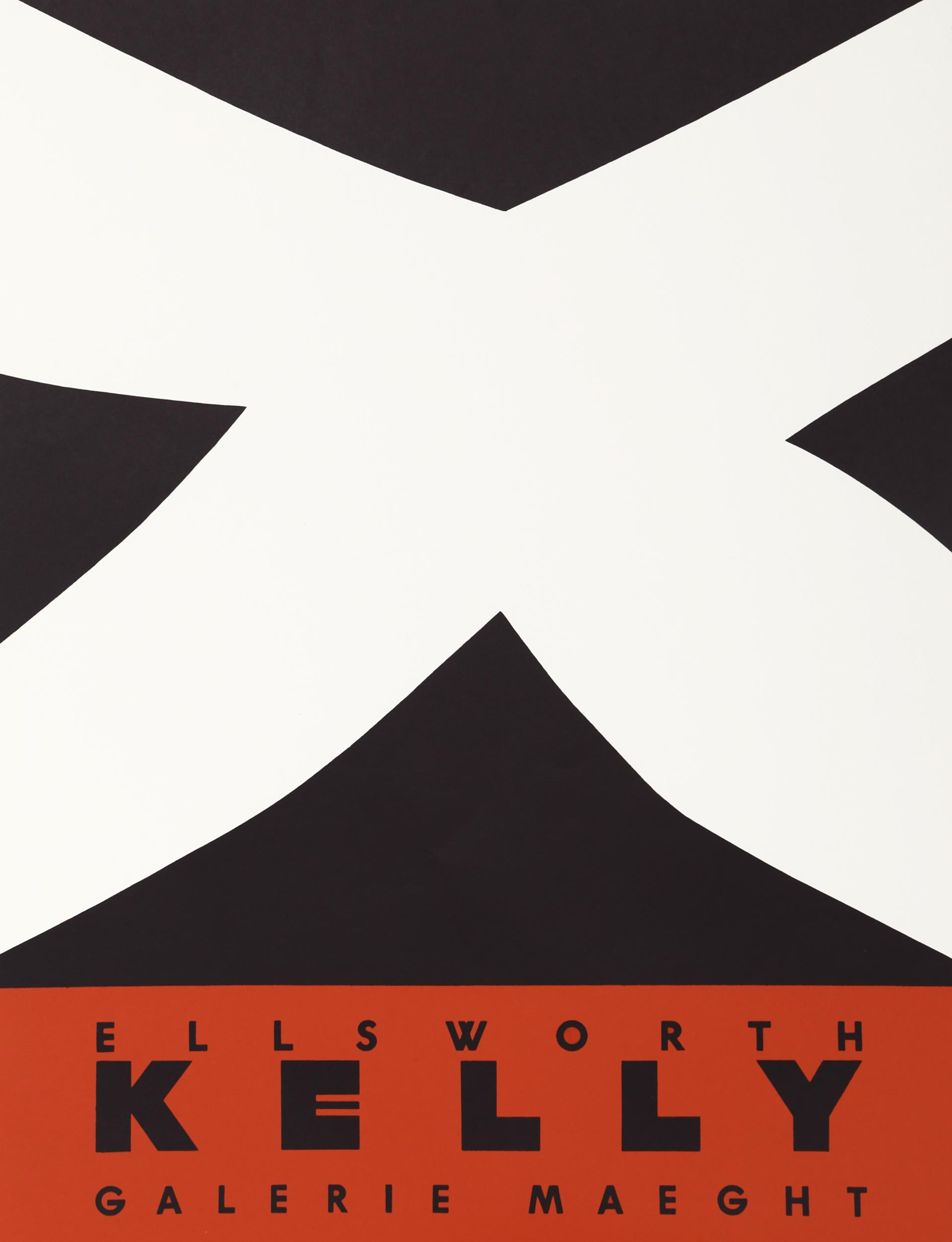 Ellsworth Kelly, Galerie Maeght, Lithograph Poster