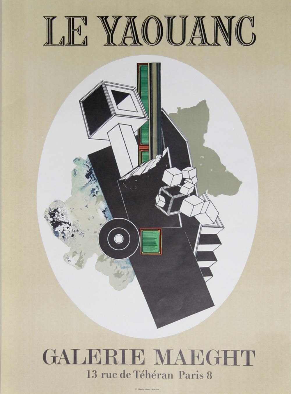 Alain Le Yaouanc, Galerie Maeght, Lithograph Poster