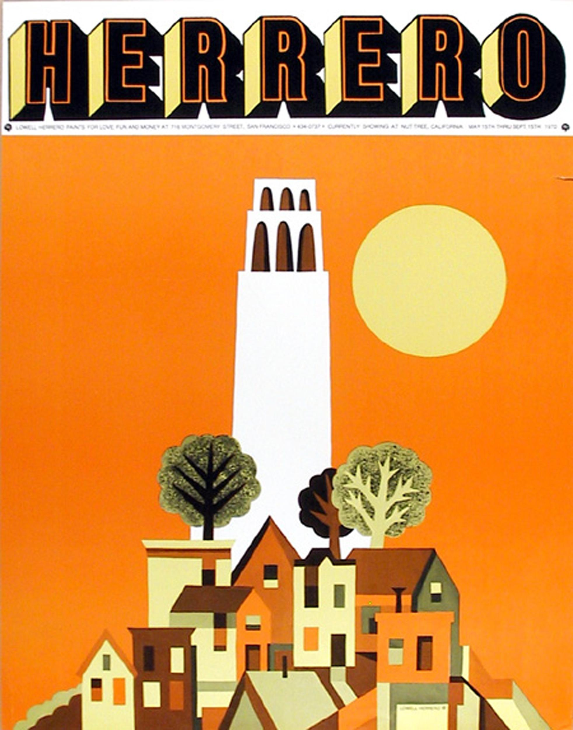 Lowell Herrero, Untitled, Poster