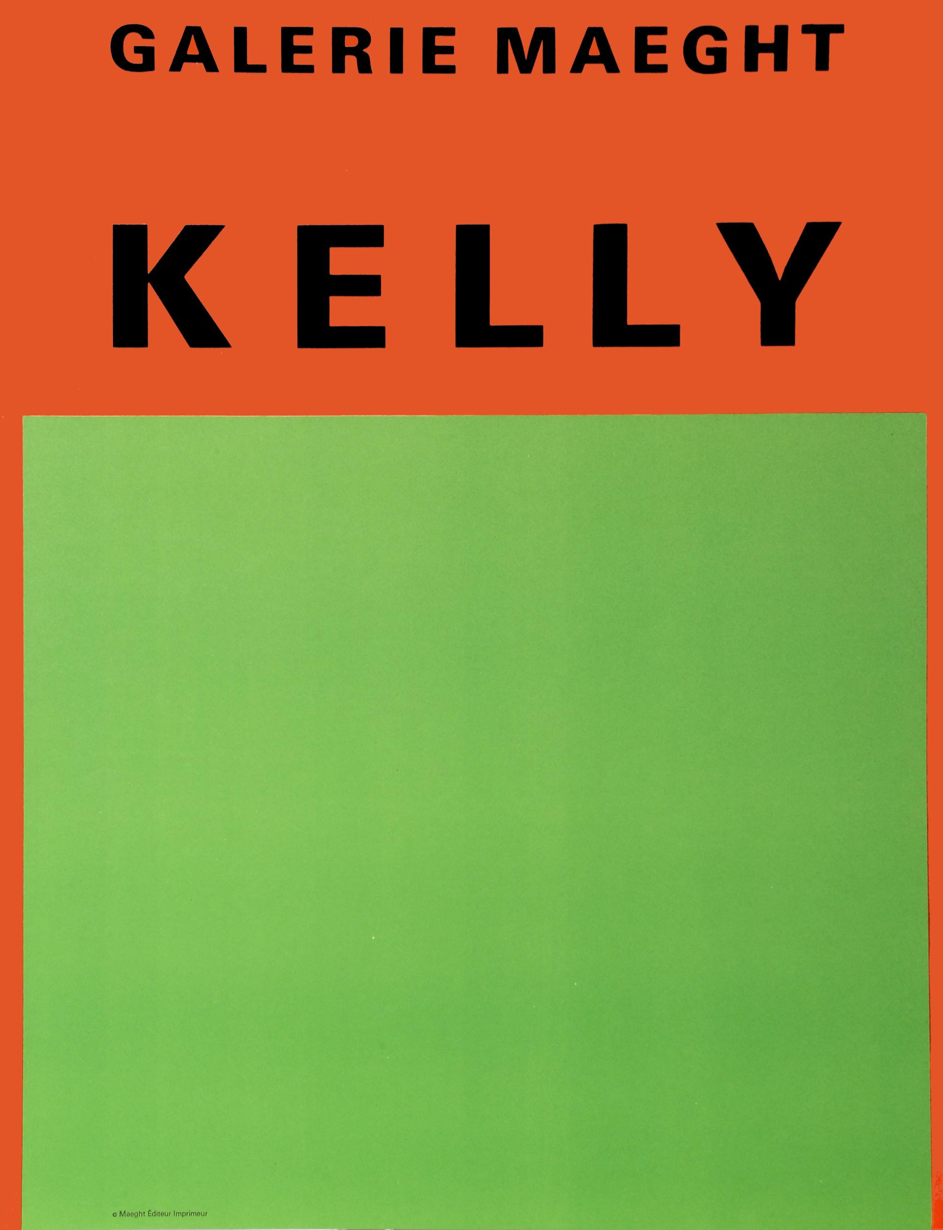 Ellsworth Kelly, Galerie Maeght 2, Lithograph Poster