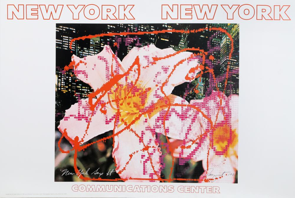 James Rosenquist, New York, New York - Communications Center, Poster