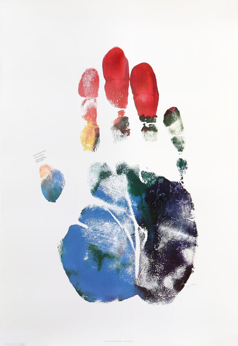 Arthur Boden, Hand Portrait (poster), Lithograph Poster