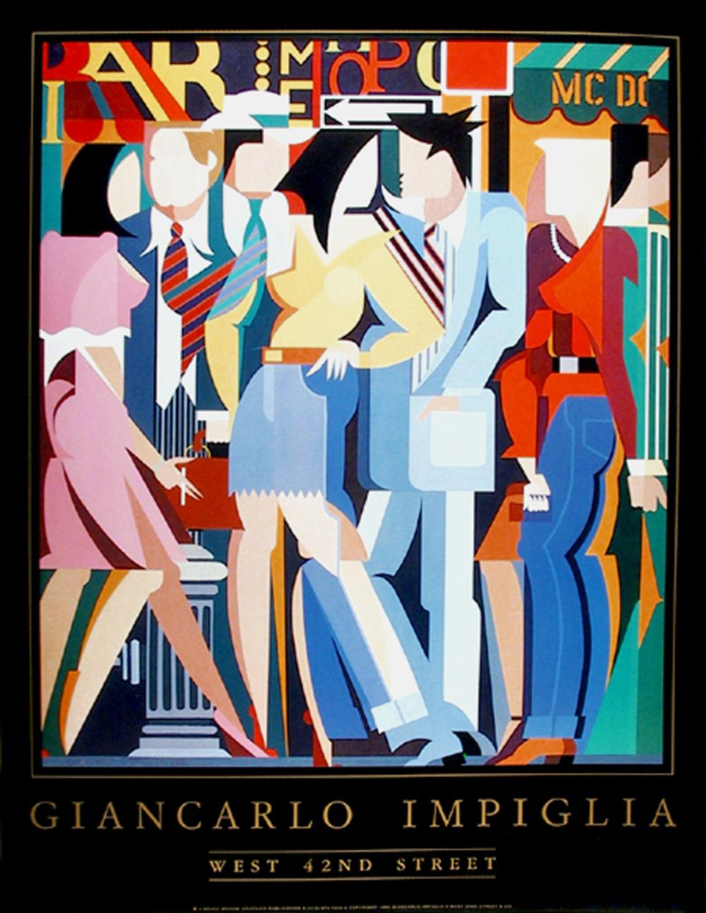 Giancarlo Impiglia, West 42nd Street, Poster