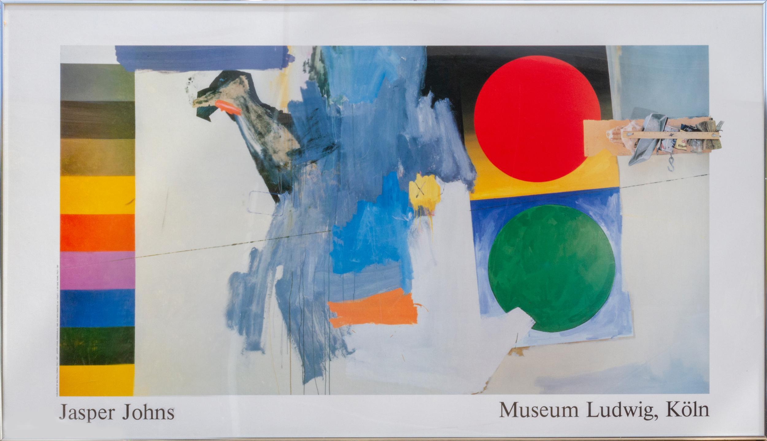 Jasper Johns, Museum Ludwig, Koln, Poster
