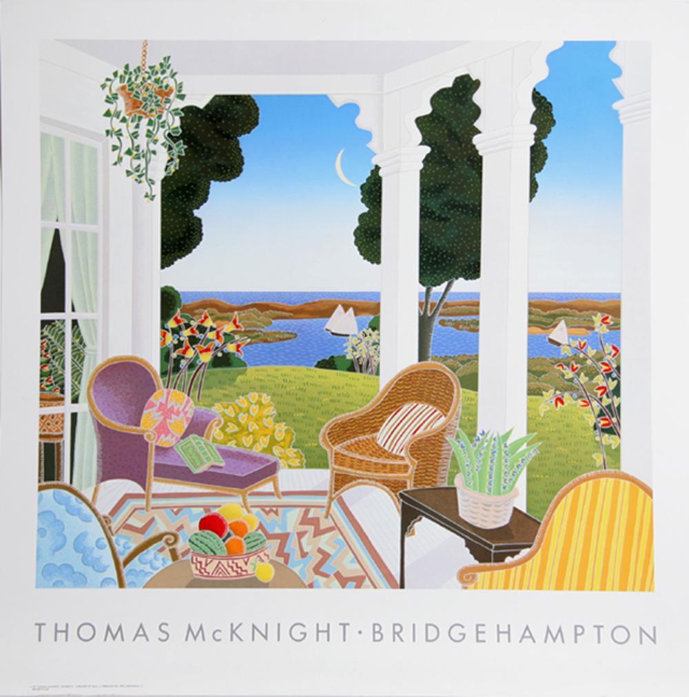 Thomas McKnight, Bridgehampton, Poster
