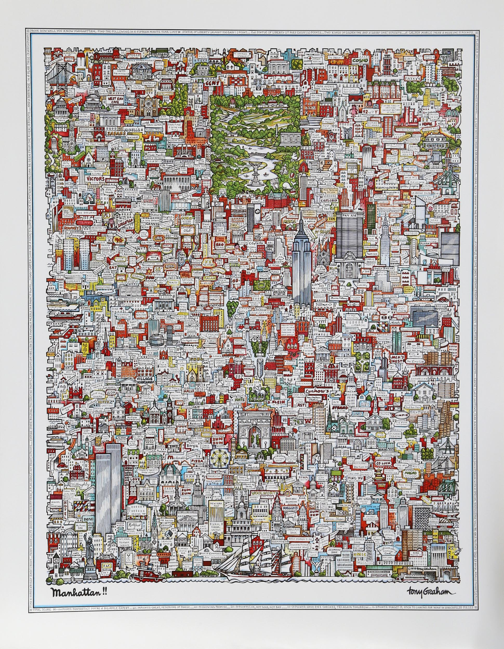 Tony Graham, Manhattan!!, Poster
