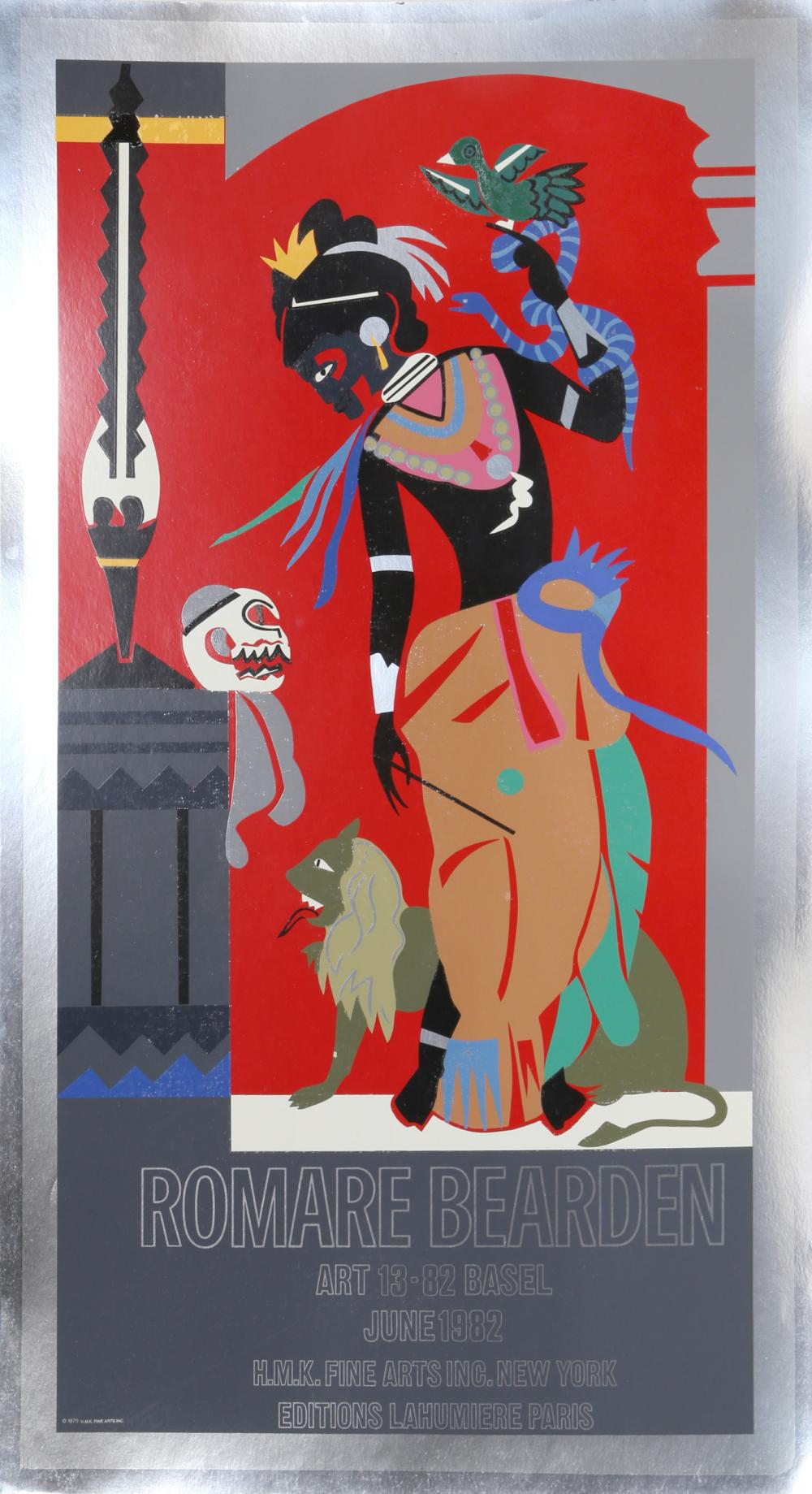 Romare Bearden, Odysseus: Circe (Exhibition), Serigraph Poster