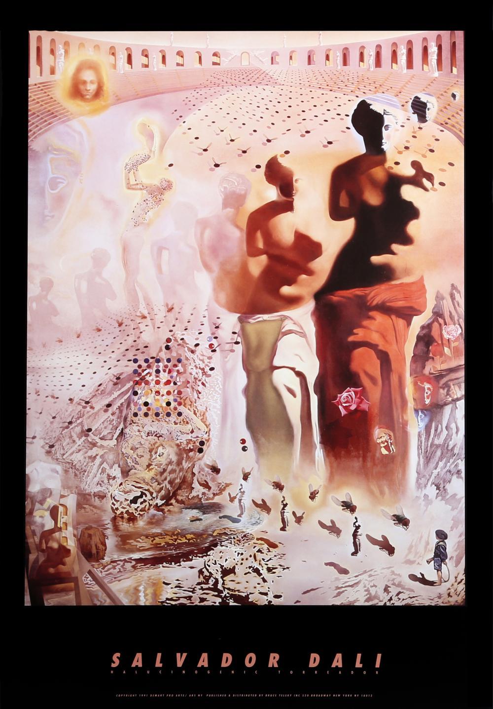 Salvador Dali, Halucinogenic Torreador, Poster