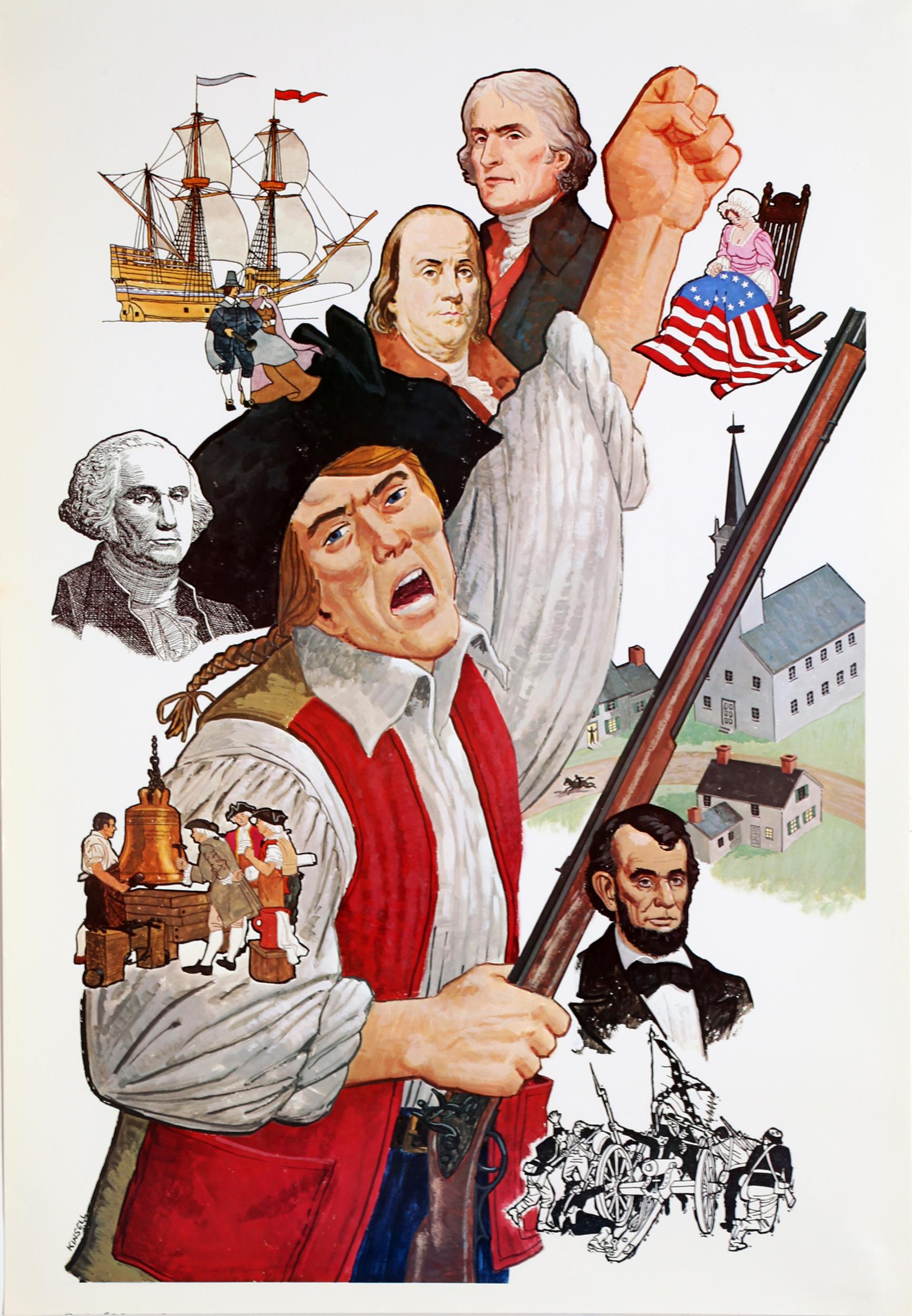 Kinsell, American History, Poster