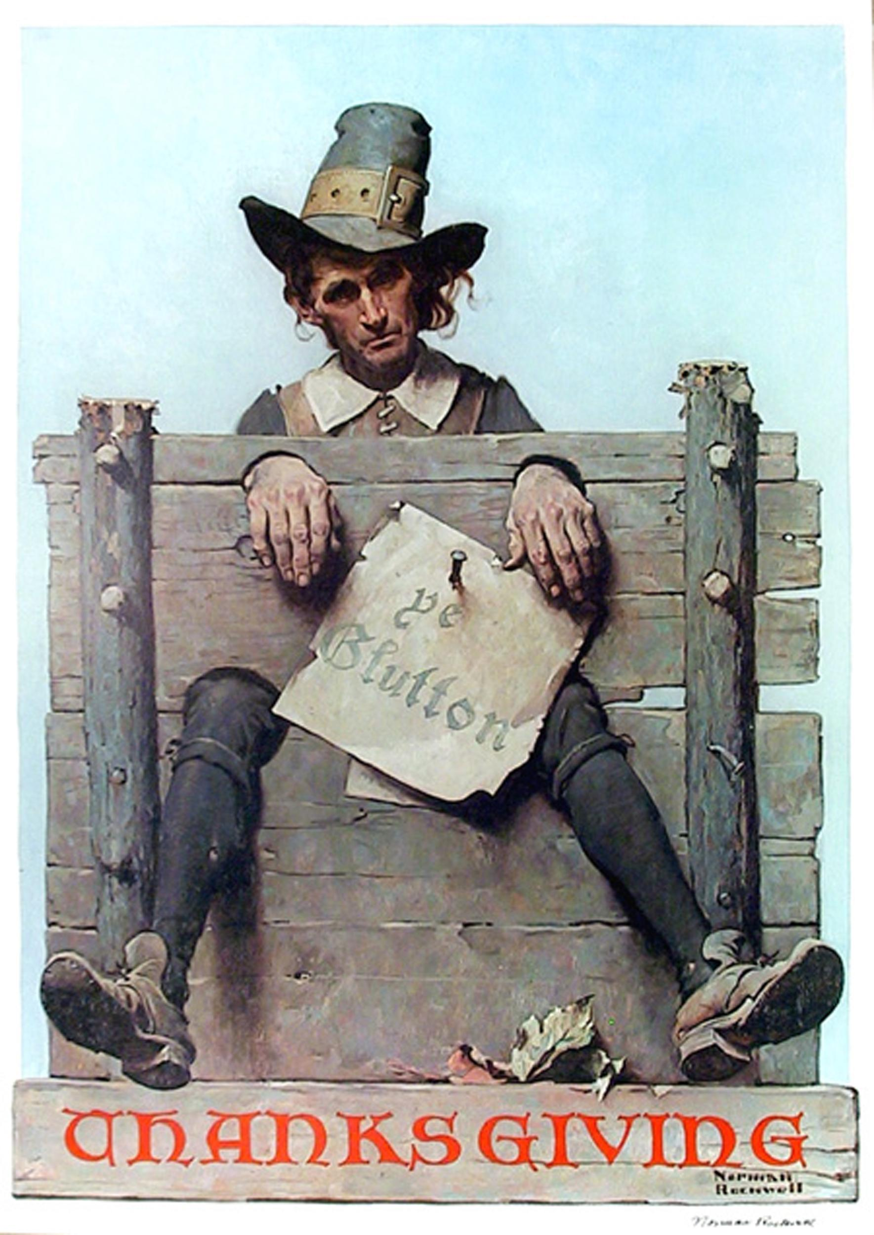 Norman Rockwell, Thanksgiving, Poster