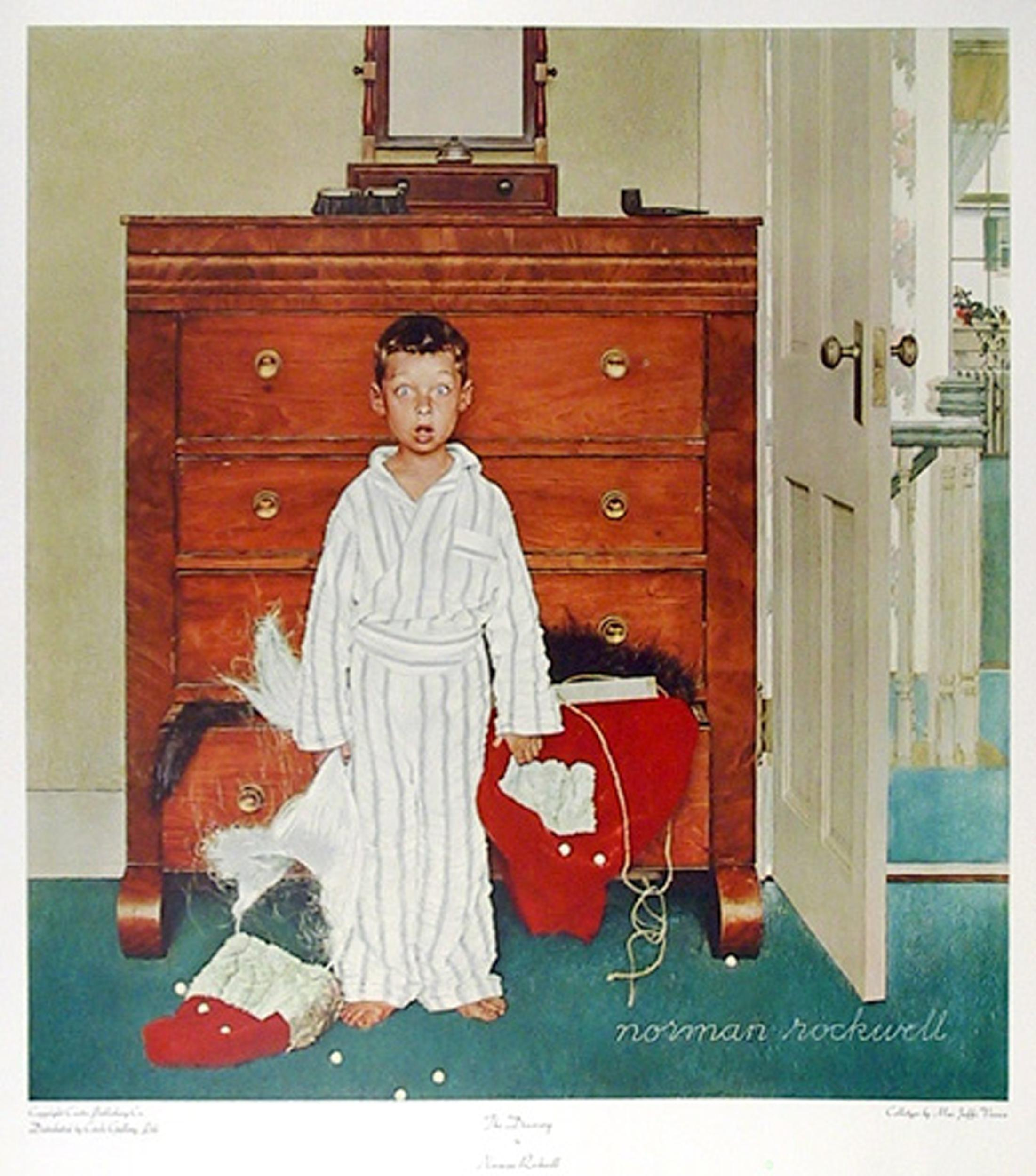 Norman Rockwell, The Discovery, Poster