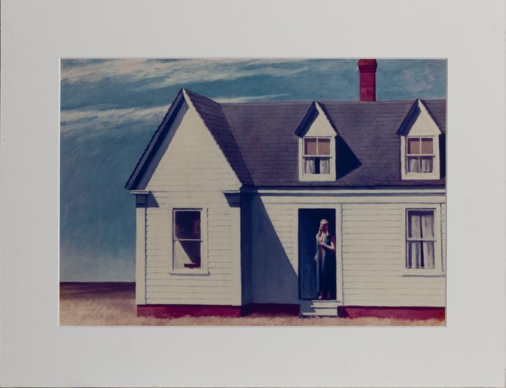 Edward Hopper, High Noon, Poster on foamcore