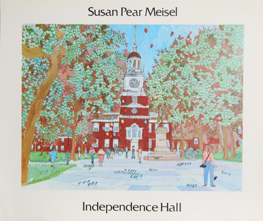 Susan Pear Meisel, Independence Hall, Poster