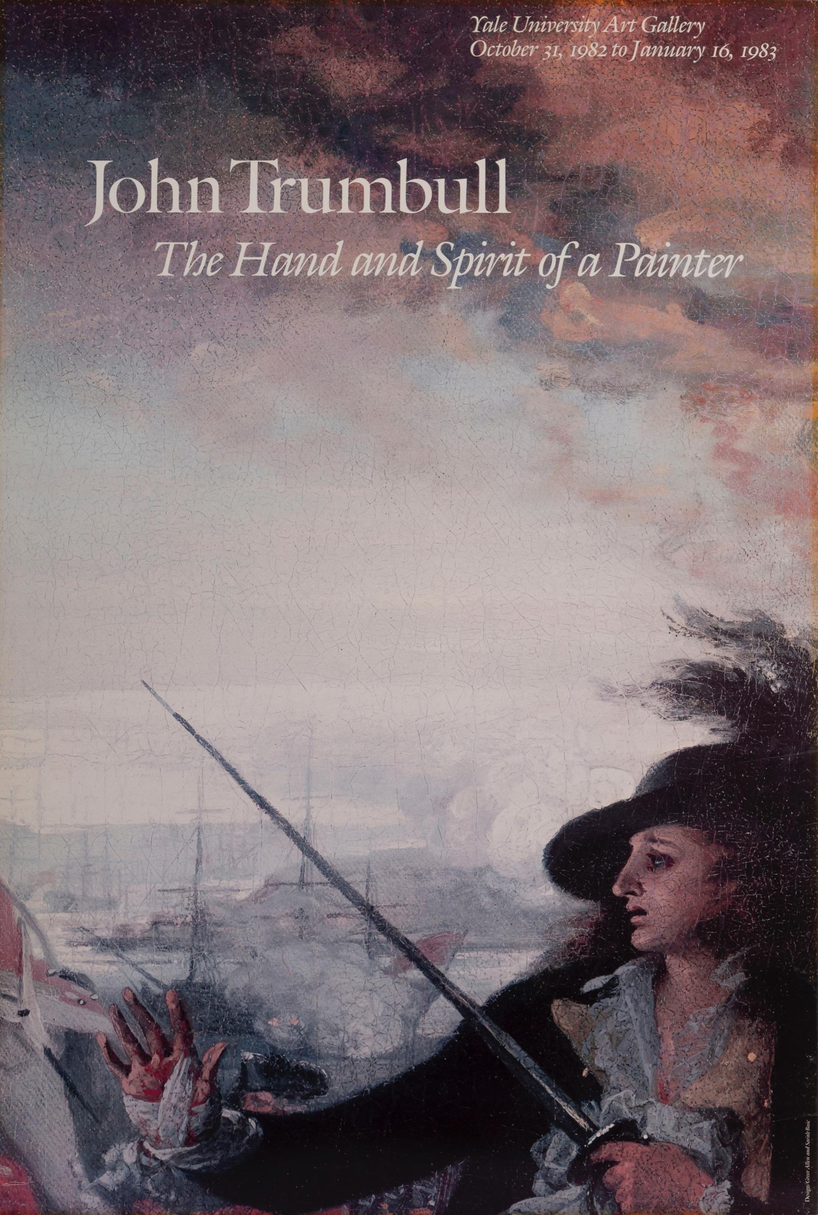 John Trumbull, The Battle of Bunker Hill, Poster on foamcore