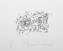 John Chamberlain, Ten Coconut Portfolio of 6 Etchings
