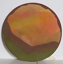 Donald Gerola, Abstract Landscape, Sand Painting